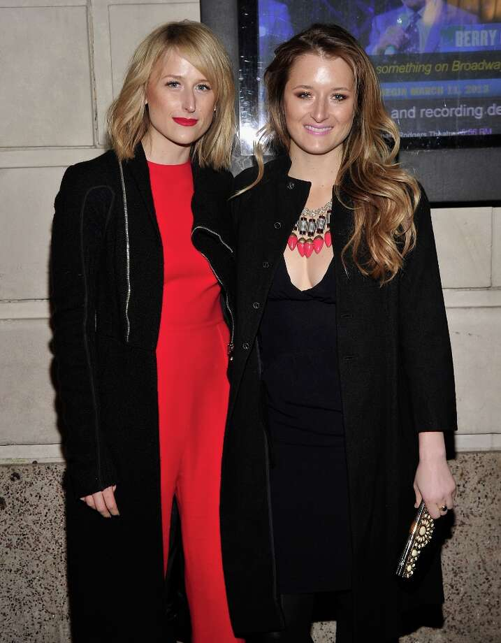Actresses Mamie Gummer and Grace Gummer attend the Cat On A Hot Tin Roof Opening Night at Richard Rodgers Theatre on January 17, 2013 in New York City. Photo: Stephen Lovekin, Getty Images / 2013 Getty Images