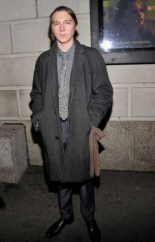 Actor Paul Dano attends the Cat On A Hot Tin Roof Opening Night at Richard Rodgers Theatre on January 17, 2013 in New York City. Photo: Stephen Lovekin, Getty Images / 2013 Getty Images