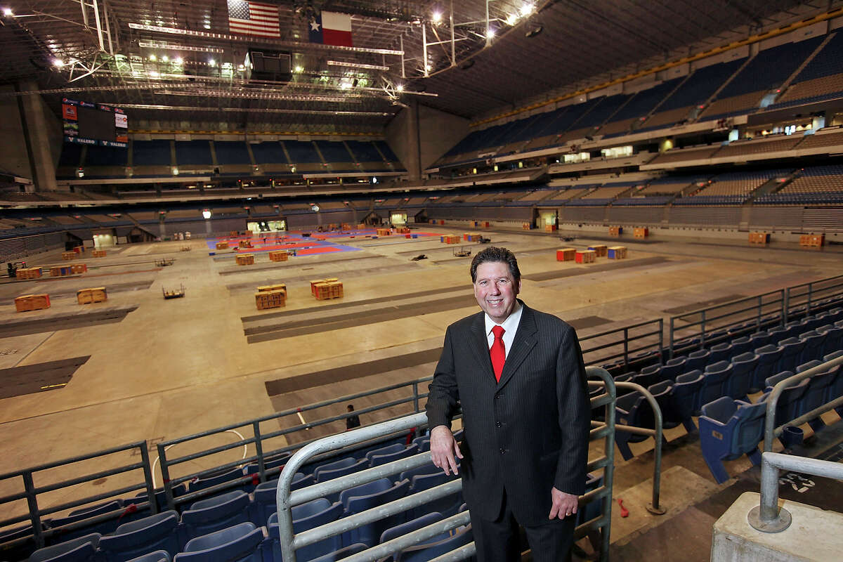 Portrait of San Antonio Sports President & CEO Russ Bookbinder Thursday Jan. 17, 2013 at the Alamodome.
