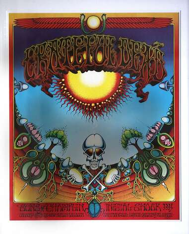 "The Grateful Dead's ""Aoxomoxoa,"" with cover art by Rick Griffin, is featured in the documentary ""The Cover Story: Album Art."" Photo: Liz Hafalia, The Chronicle"