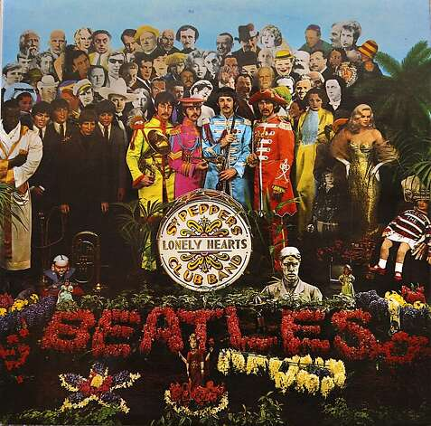 "The Beatles' ""Sgt. Pepper's Lonely Hearts Club Band"" is featured in the documentary ""The Cover Story: Album Art."" Photo: Liz Hafalia, The Chronicle"