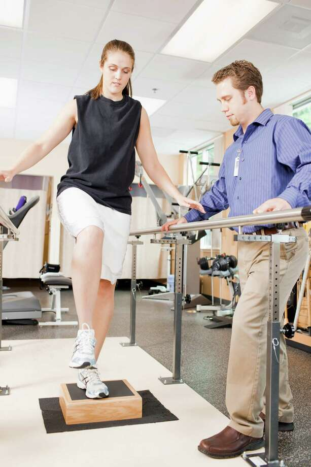 Physical therapists are among the many health-care professionals needed by area hospitals undergoing expansion to meet growing demand. / (c) LaCoppola-Meier