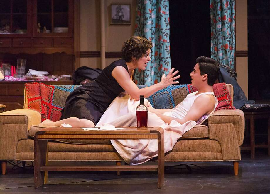 "Priscilla Lopez and Michael Rosen star in ""Somewhere."" Photo: Mark Kitaoka"