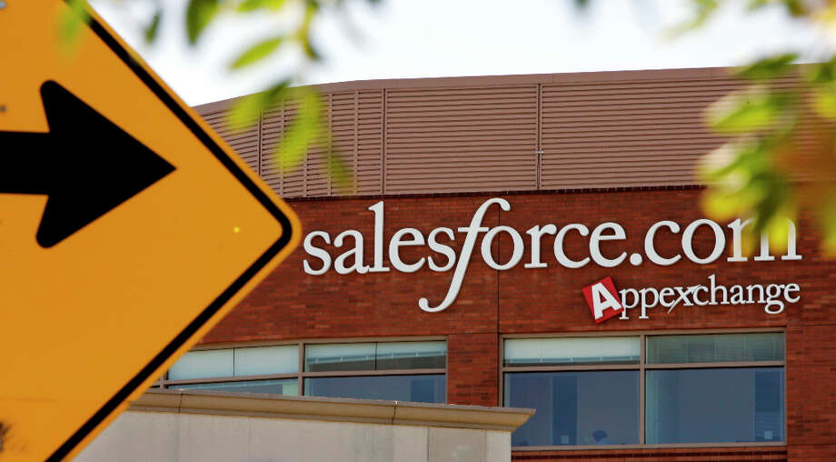 19. salesforce.comNo. of employees: 5,474The San Francisco enterprise software company offers employees free yoga classes, 48 hours of paid time to volunteer and a $100 monthly wellness benefit, among other perks. Photo: Paul Sakuma, AP / AP