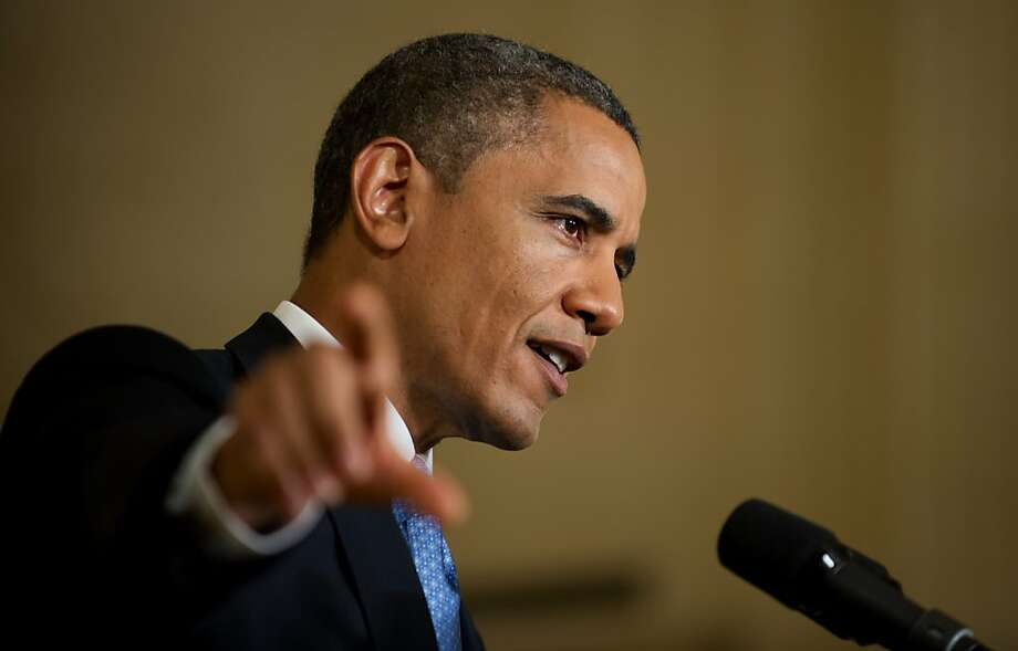 Barack Obama Photo: Jim Watson, AFP/Getty Images