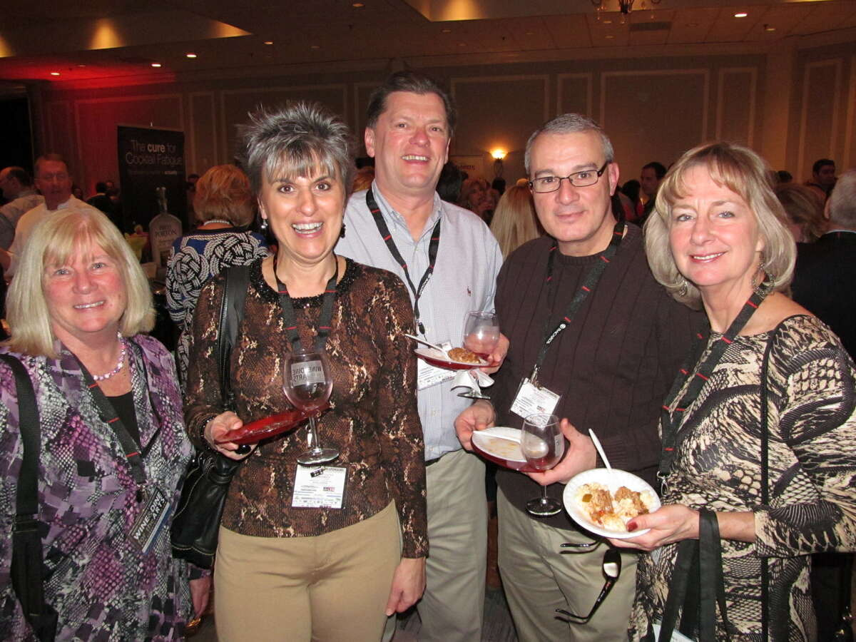 Were you Seen at the Grand Tasting during the annual Wine & Dine for the Arts celebration at Hotel Albany on Friday, Jan. 18, 2013?