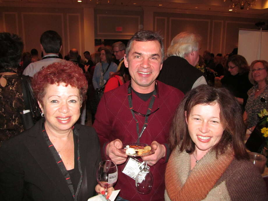 Were you Seen at the Grand Tasting during the annual Wine & Dine for the Arts celebration at Hotel Albany on Friday, Jan. 18, 2013? Photo: Kristi Gustafson Barlette/Times Union