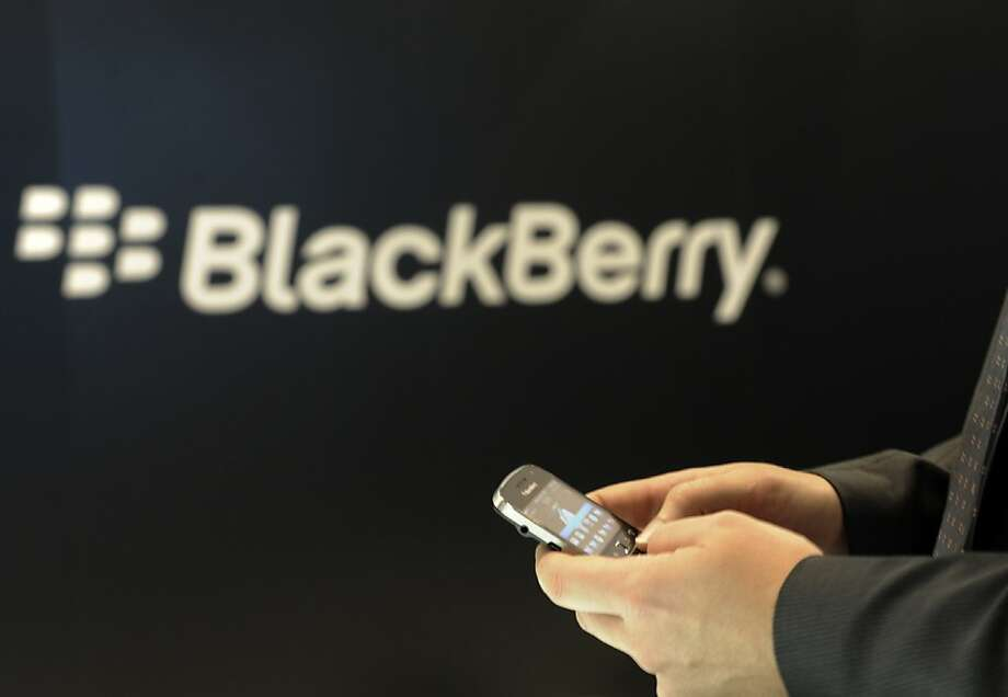 RIM's BlackBerry Balance lets users separate their work and personal life. Photo: Berthold Stadler, Associated Press