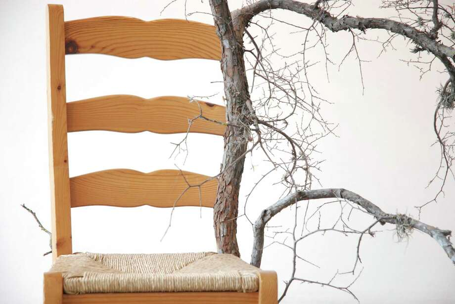 "Maximo Gonzalez's ""Temperamental Chair-Tree"" is featured in ""Transitios"" at Artpace. Photo: Courtesy Chris Castillo"