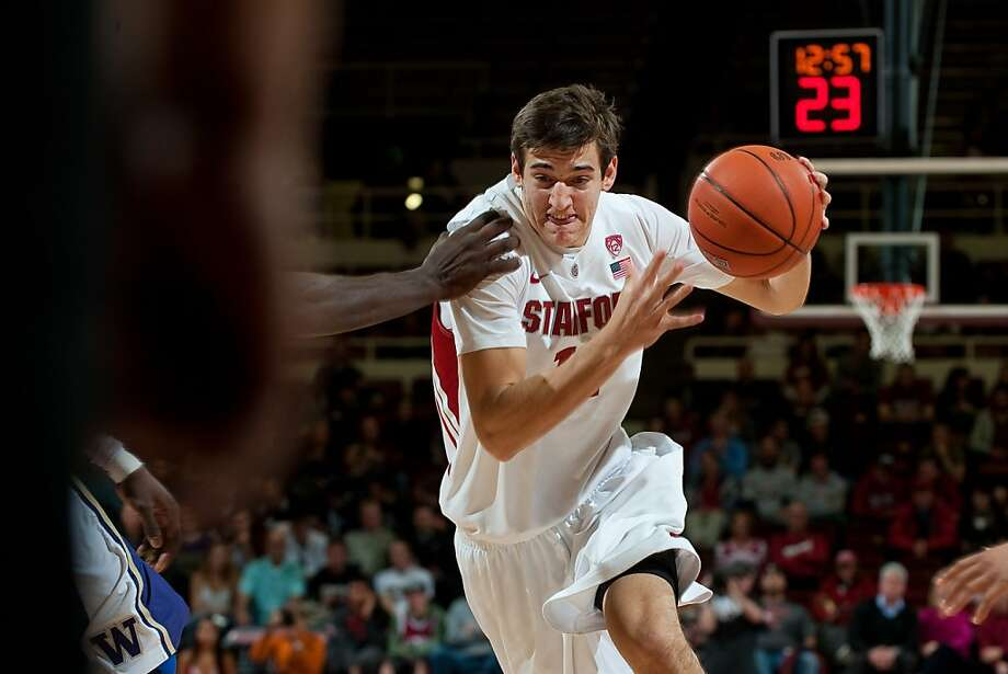 Stanford's Rosco Allen is a highly-touted freshman forward who, at 6-foot-9, is as adept at ball-handling and passing as he is at scoring inside or out, a testament to European coaching. Photo: Don Feria, Isiphotos.com
