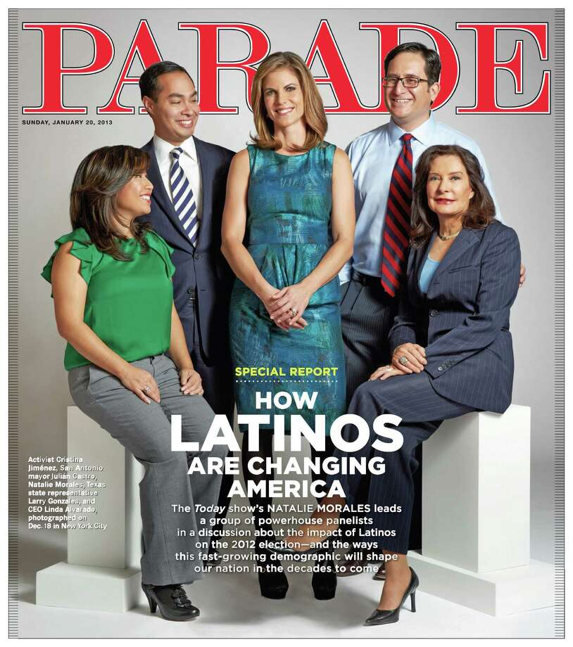San Antonio mayor Julian Castro appears on the Jan. 20, 2013 cover of Parade Magazine. Photo: Courtesy Image / COURTESY OF PARADE MAGAZINE