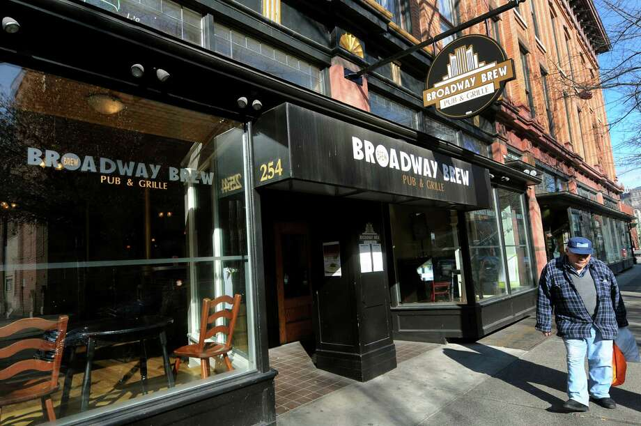 Dining area at Broadway Brew on Tuesday, Feb. 28, 2012, in Troy, N.Y. (Cindy Schultz / Times Union archive) Photo: Cindy Schultz / 00016600A