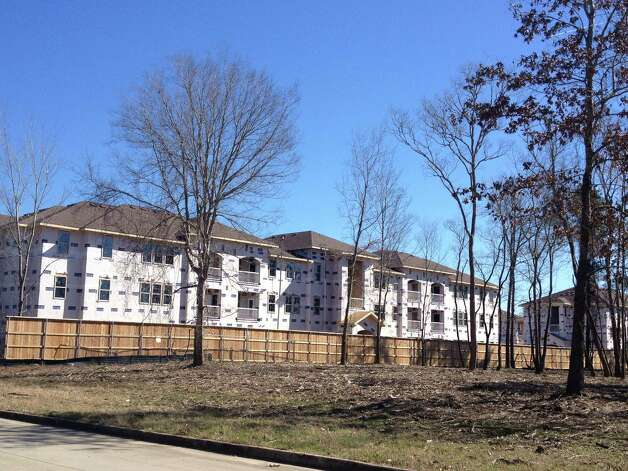 Construction on Azure Pointe in Beaumont began about three months ago and is expected to be completed later this year. Monique Batson/The Enterprise