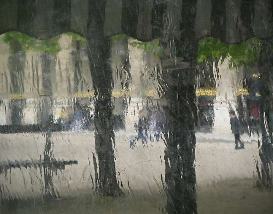 Palais Royal in the Rain Photo: Sonia Melnikova-Raich