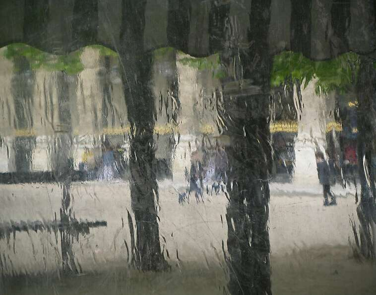 Palais Royal in the Rain