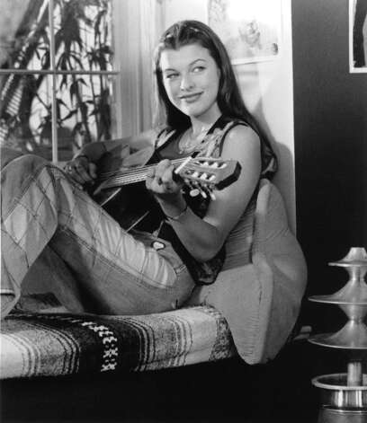 Milla Jovovich was then mostly known as a model, before getting the part of a guitar-playing stoner. Photo: Archive Photos, Getty Images / 2011 Getty Images