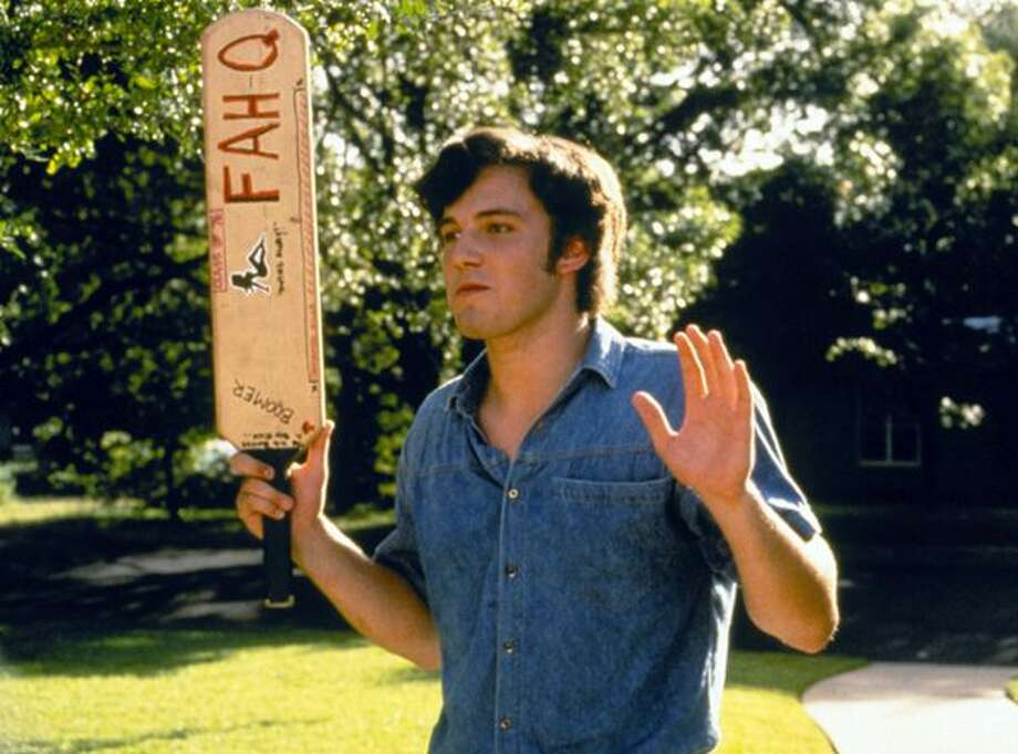 Dazed and Confused was one of Ben Affleck's first movies, in which he played a mean senior who hazed incoming freshmen.