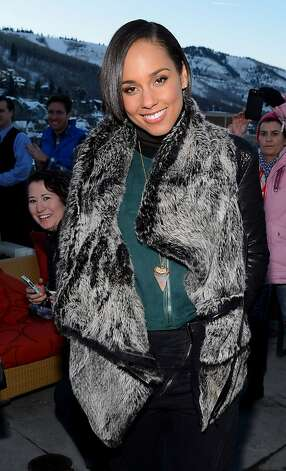 PARK CITY, UT - JANUARY 18:  Singer Alicia Keys attends the 'Nikki Beach Pop-Up Lounge & Restaurant At The Re:Treat' on January 18, 2013 in Park City, Utah.  (Photo by Mark Davis/Getty Images for Nikki Beach) Photo: Mark Davis, Getty Images For Nikki Beach