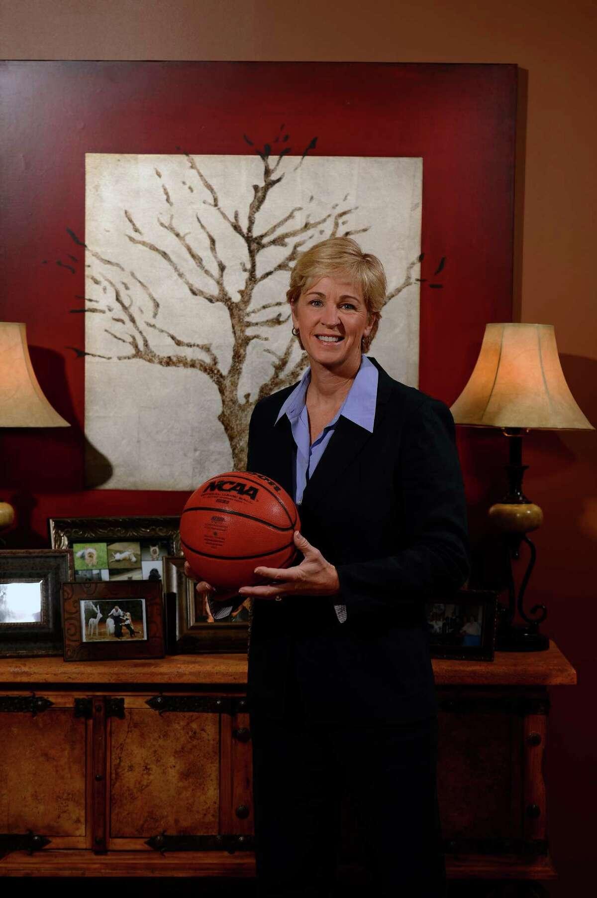Former Auburn women's basketball coach Nell Fortner on Saturday, Jan. 19, 2013 in Auburn, Ala. Todd Van Emst