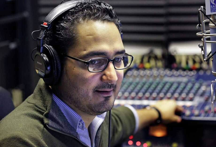 Alex Hernández is a native of Mexico who moved here at age 11. He's also operations manager of Mexico City-based Grupo Fórmula's 102.3 FM San Antonio/1500 AM Boerne. Photo: Bob Owen, San Antonio Express-News / ©2013 San Antonio Express-News