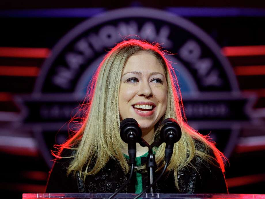 National Day of Service Honorary Chair, Chelsea Clinton speaks during the opening ceremony for the National Day of Service, part of the 57th Presidential Inaugural festivities, Saturday, Jan. 19, 2013, in Washington. Photo: Steve Helber, Associated Press / AP