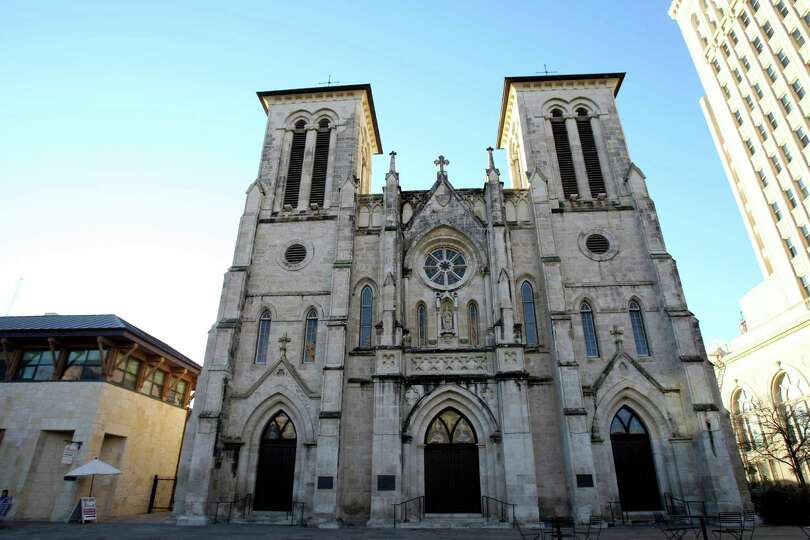 The original cornerstone for San Fernando Cathedral was set in 1738, but the structure we rec