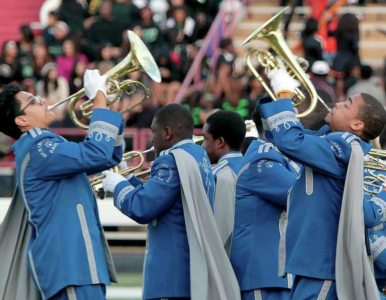 Houston's Westbury High School performs during the 12Th Annual MLK Battle Of The Bands at HISD's But