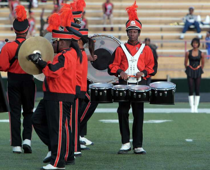 Tulsa, Oklahoma's Booker T. Washington High School performs during the 12Th Annual MLK Battle Of The
