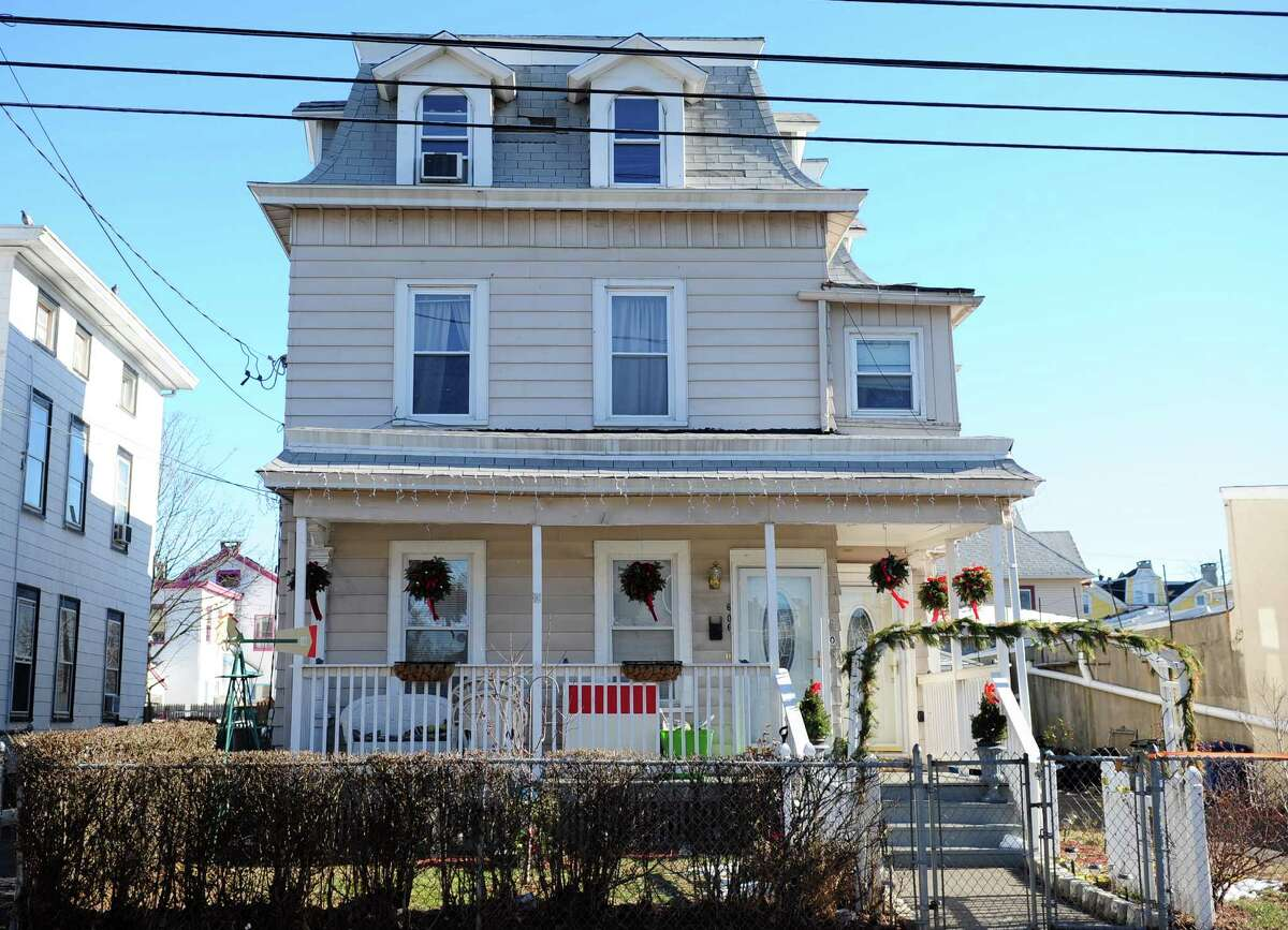 A house at 604 Noble Ave. in Bridgeport, Conn. where state Rep. Christina Ayala, D-Bridgeport, claimed to be living when elected.