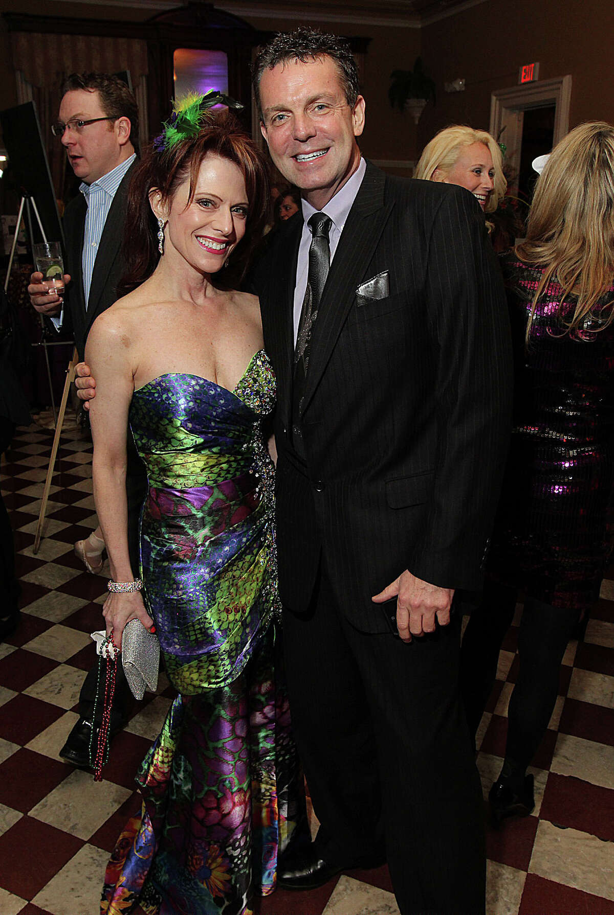 Were you Seen at Hattie's Mardi Gras Celebration, a benefit for the Saratoga Performing Arts Center and its New York City Ballet residency, at the Canfield Casino in Saratoga Springs on Saturday, Jan. 19, 2013?