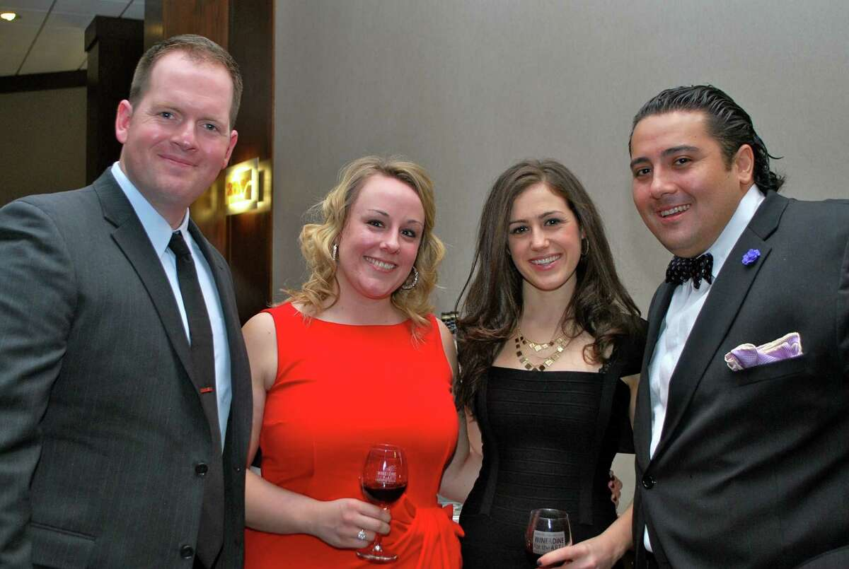 Were you Seen at Medici's Feast, the Wine & Dine for the Arts gala reception, at Hotel Albany on Saturday, Jan. 19, 2013?