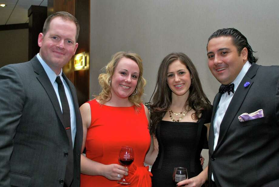 Were you Seen at Medici's Feast, the Wine & Dine for the Arts gala reception, at Hotel Albany on Saturday, Jan. 19, 2013? Photo: Silvia Meder Lilly