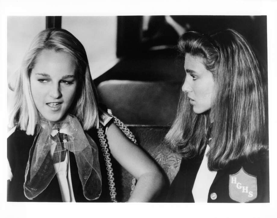 Helen Hunt(left) is a longtime actress who's been acting since the '80s. She starred in the 1985 movie 'Girls Just Want to Have Fun' with Sarah Jessica Parker, right. Photo: Michael Ochs Archives, Getty Images / 2011 Getty Images