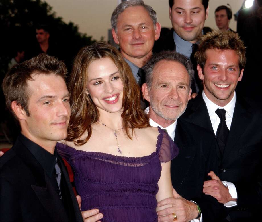 Before Bradley Cooper (right) became a movie star, he was in the TV show 'Alias' with Jennifer Garner (center), beginning in 2001. Photo: Vince Bucci, Getty Images / Getty Images North America