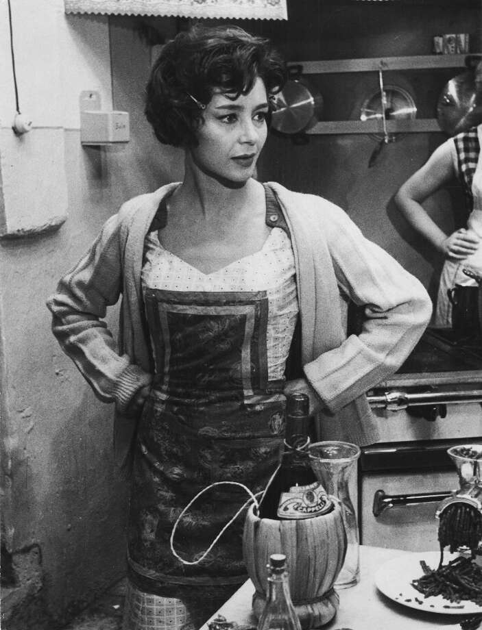 Emmanuelle Riva is a French actress best known for her 1959 movie 'Hiroshima, Mon Amour.' She's pictured from the  1960 film 'Adua and Friends.' Photo: Mondadori, Mondadori Via Getty Images / Mondadori
