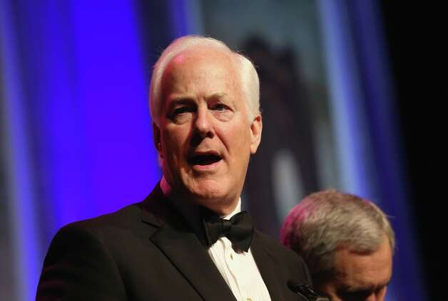 U.S. Sen. John Cornyn (R-TX) speaks at the Texas Black Tie and Boots inaugural ball on January 19, 2013 in National Harbor, Maryland. Thousands of Texans turned out to celebrate the upcoming second inauguration of U.S. President Barack Obama. Photo: John Moore, Getty Images / 2013 Getty Images