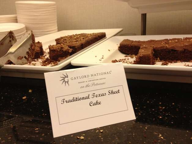 5. Chocolate Texas sheet cake completes any Lone Star shindig. (Caroline Ward/Houston Chronicle)