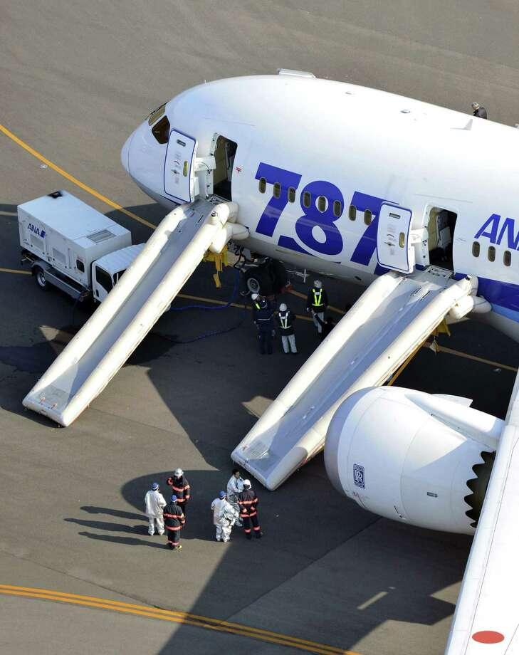 The U.S. Federal Aviation Administration and other regulators grounded the 787 after smoke and fire incidents aboard airplanes owned by Japan Airlines and All Nippon Airways. Photo: AP
