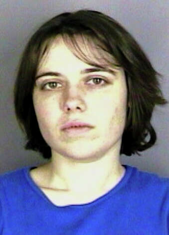 This undated photo released by Marion Co. Sheriff's Office shows Alicia Inglish. Authorities say what was supposed to be a rescue facility for hard-to-place dogs in Marion County has turned out to be a warehouse where more than 140 were housed in deplorable conditions - little food, water fouled by garbage, cages designed for one dog containing up to four. Photo: AP