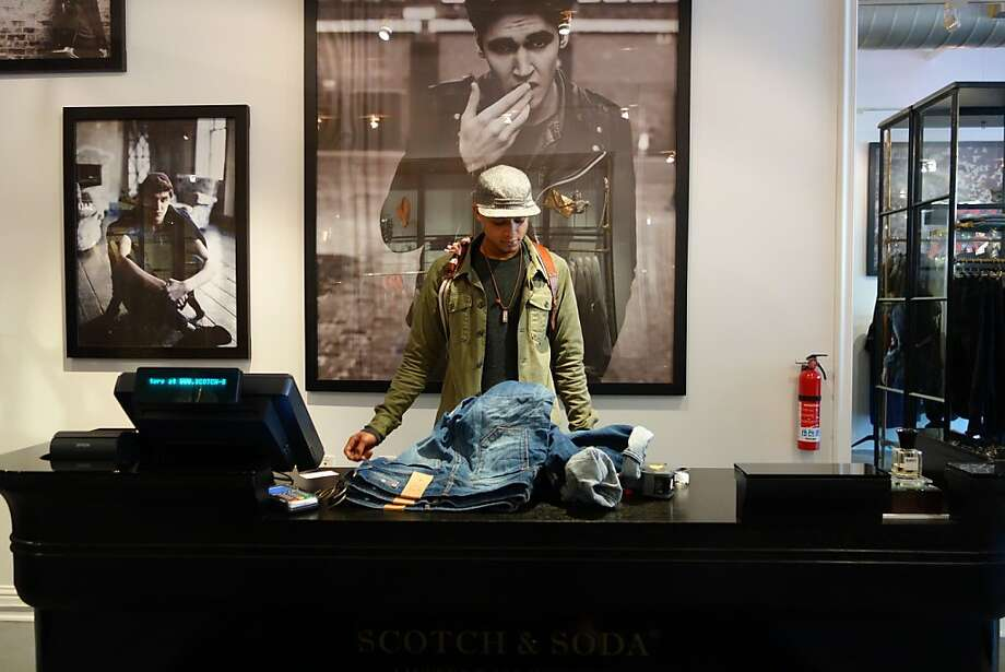 Scotch & Soda brings its Amsterdam style, long popular in Europe, to S.F. Photo: Nellie Bowles, Staff