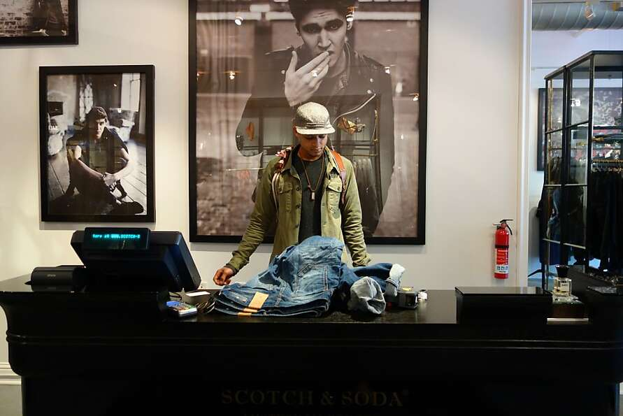 Scotch & Soda brings its Amsterdam style, long popular in Europe, to S.F.
