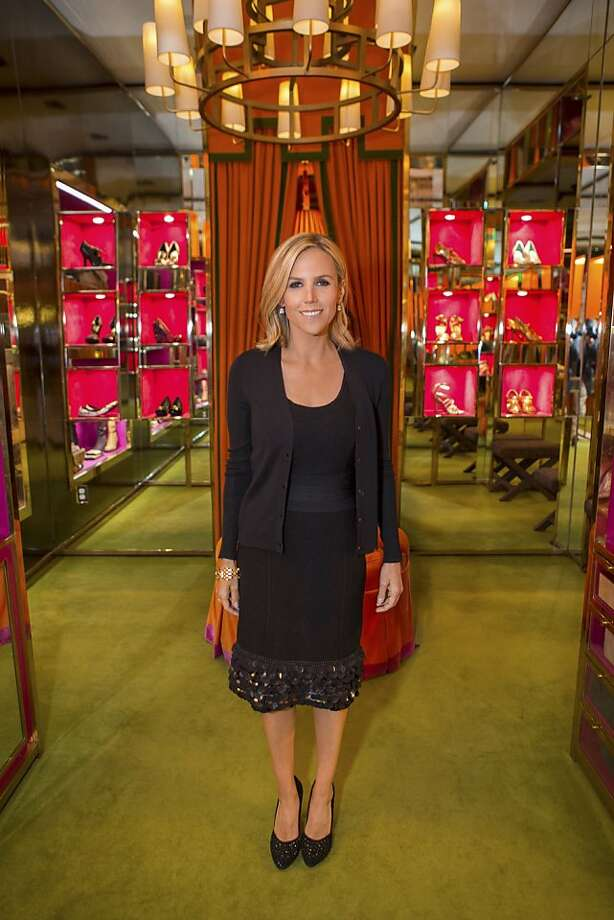 Tory Burch, co-founder of the Tory Burch clothing line and boutique store  chain