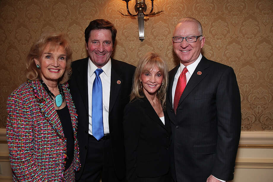 Congressman John Garamendi (CA-3) and wife Patti Garamendi join Congressman Buck McKeon (CA-25) and wife Patricia McKeon as the  California State Society and FIDM/Fashion Institute of Design & Merchandising present a Presidential Inaugural Luncheon and Fashion Show at the Ritz Cartlon Hotel in Washington, DC on Saturday, January 19, 2013. Photo: Alex J. Berliner, AP / ABImages