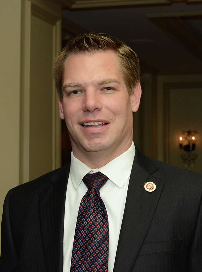 Congressman Eric Swalwell (CA-15) attends as California State Society and FIDM/Fashion Institute of Design & Merchandising present a Presidential Inaugural Luncheon and Fashion Show at the Ritz Cartlon Hotel in Washington, DC on Saturday, January 19, 2013. Photo: Jodi King, AP / ABImages