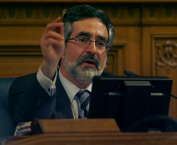 Democratic Party Chair Aaron Peskin filed the complaint against Andrea Shorter. Photo: Kim Komenich, The Chronicle