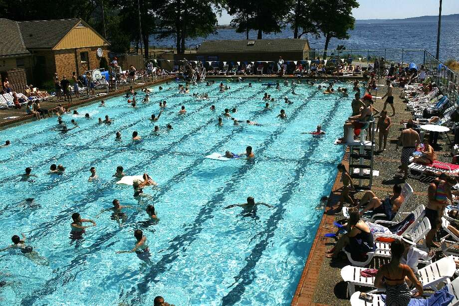 CLOSED: Seattle public swimming pools Stay home, Squints: Wendy Peffercorn gets the day off. (seattlepi.com file)