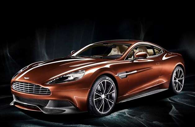The 2014 Aston Martin Vanquish costs a minimum of $279,000. Photo: Housto Auto Show