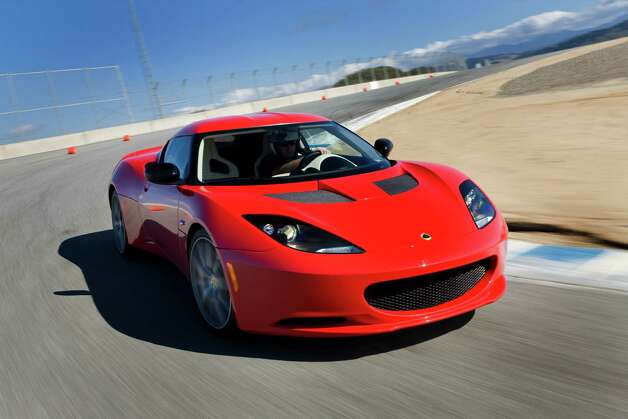 Car enthusiasts might see the the Lotus Evora. It will be part of a boutique of high-end cars at the show. Photo: Houston Auto Show