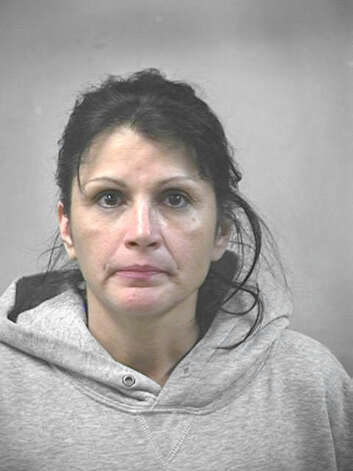Ruby Marie Bukvasevic, 53, is suspected of drunken driving connected with a crash that killed two women. Photo is from a 2006 driving while intoxicated arrest, her second.