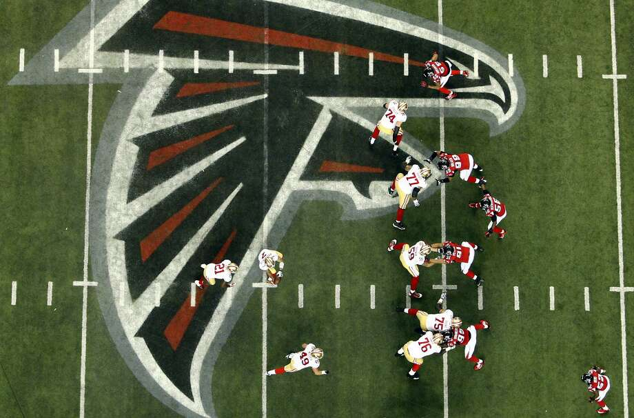 The San Francisco 49ers played the Atlanta Falcons in the NFC Championship Game in the Georgia Dome in Atlanta, Ga., on Sunday, January 20, 2013. The 49ers defeated the Falcons 28-24 and advancing to the Superbowl. Photo: Carlos Avila Gonzalez, The Chronicle